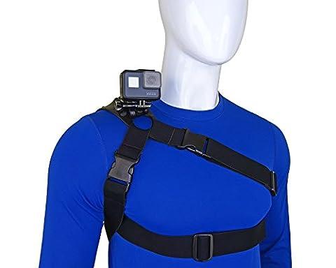 STUNTMAN 360 - Harnais de Épaules, Poitrine et Hanche pour caméras d'action