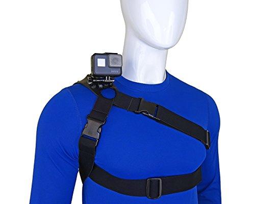 STUNTMAN 360 - Schulter Brust und Hüfte Mount für Action-Kameras (Point And Shoot-kamera Mit Gurt)