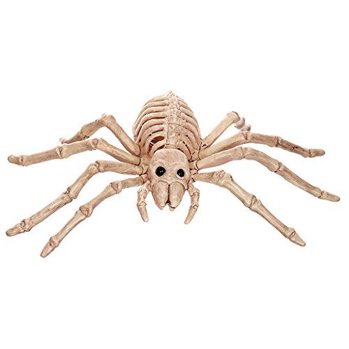 Uk Halloween Kostüme Spinne Baby (Halloween Dekoration Gegenstand Simulation Spinne Schädel Knochen Rahmen Horror Bar Haunted House)