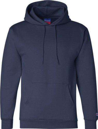 Champion Men's Double Dry Eco Pullover Hood Blu - blu navy