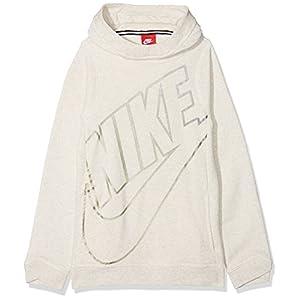 Nike Mädchen Sportswear Modern Po GFX Langarm Oberteil Mit Kapuze