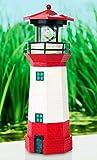 Solarleuchte Solar Leuchtturm rot, eine besondere Solarleuchte