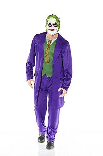 fasching batman MIMIKRY Herren-Kostüm Gauner inklusive Hose und Maske , Größe:XL