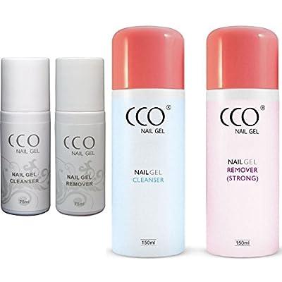 CCO UV LED Nail Gel Remover Cleanser Soak off 150ml 75ml Bottle