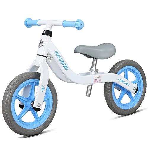 Kinder-Waage Auto Slide Car 2-6 Jahre altes Baby Kind Outdoor Sport Zweirad Fahrrad-Schlittschuh Rutsche Walker ohne Pedal Baby Stroller,Blue