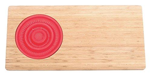 Jocca 1633 Tabla con escurridor para Fregadero, Marrón, 29 cm