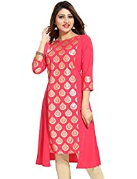 ALC Creation Women's Crepe Kurti