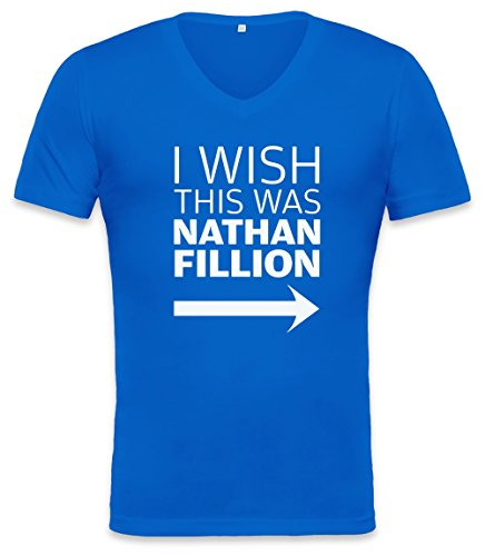 I Wish This Was Nathan Fillon Unisex V-neck T-shirt