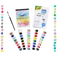 ‏‪Crayola Deluxe Watercolor Kit, Paint Set, Gift, Over 60 Pieces, Gift‬‏