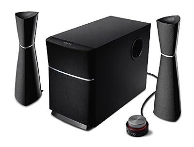 Edifier M3200BT 2.1 système de haut-parleur Bluetooth (34 watts) avec NFC, télécommande filaire pour TV / PC / ordinateur portable / Tablet / Smartphone de Edifier