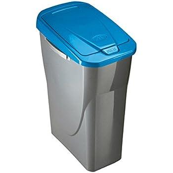 Mondex Müllsortierer 25 Liter mit blauem Deckel: Amazon.de