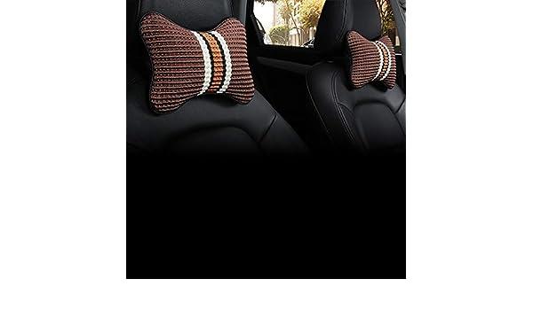 Auto Nackenkissen Kopfst/ütze Ergonomische mit Memory Schaum Komfortabel f/ür Fahren Autositz Schwarz Totento Auto Kopfst/ütze Kissen
