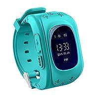 GPS GSM GPRS Smart Watch Children Kid Intelligent Locator Tracker -Q50