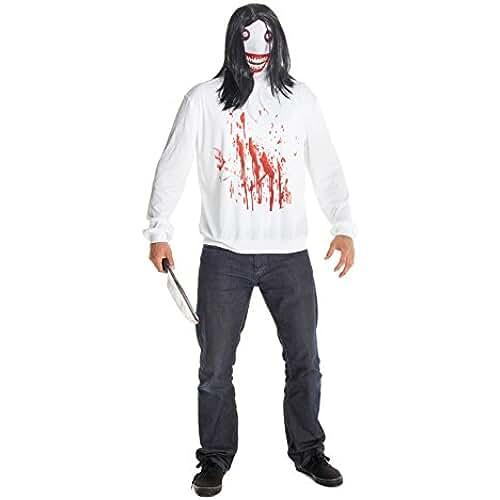 Jeff la Killer morphcostume disfraz–Talla única