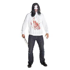 Jeff la Killer morphcostume disfraz-Talla única