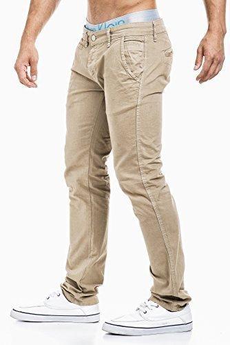 BALANDI hombres pantalones vaqueros; Talla XL, color beige