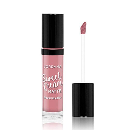 JORDANA Sweet Cream Matte Liquid Lip Color - Creme Brulee - Jordana Liquid