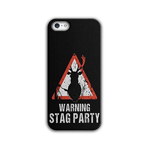 Warnung Party Komisch Hirsch Junggeselle Party iPhone 5 / 5S Hülle | Wellcoda (Ferien Party Kostüme Ideen)
