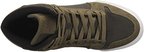 Supra Herren Vaider Sneaker Green (Olive/Demitasse-White)