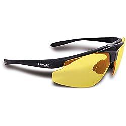 Shilba Hunter Gafas Protección de Caza, Unisex Adulto, Negro, S