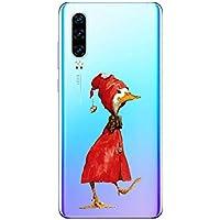 Oihxse Funda para Huawei Y6 Pro 2019/Y6 2019 Transparente, Estuche con Enjoy 9E/Honor 8A Ultra-Delgado Silicona TPU Suave Protectora Carcasa Océano Animal Serie Bumper (C6)