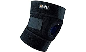 EMPO Attelle de Genou Support Course Jogging Exercice Ajustable Unisexe Velcro