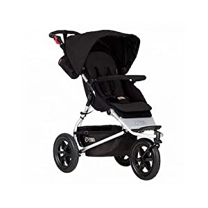 Mountain Buggy Urban Jungle Pushchair (2015), Black GSDZSY ❀ MATERIAL : High carbon steel + ABS + rubber wheel, suitable for children from 1 month to 6 years old, maximum load 30 kg ❀ FEATURES : The push rod can be adjusted in height, the seat can be rotated 360, the backrest can be adjusted, the baby can sit or recline; the adjustable umbrella can be used for different weather conditions ❀ PERFORMANCE : high carbon steel frame, strong and strong bearing capacity; non-inflatable rubber wheel, suitable for all kinds of road conditions, good shock absorption, seat with breathable fabric, baby ride more comfortable 9