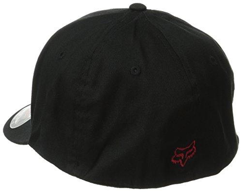 Fox flexfit casquette pour homme legacy Noir - Noir/rouge