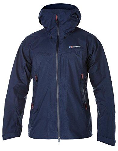 Berghaus Hydroshell Hybrid Jacket Men - Wasserdichte Regenjacke Blau