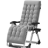 DEO Fauteuils inclinables Pliable Balcon Recliner Sun Chaise Chaise  Paresseux Maison Chaise Siesta Lit (Couleur 255fcffd0413