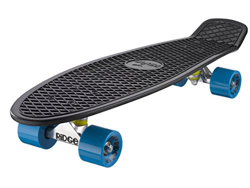 Preisvergleich Produktbild Ridge Skateboard Big Brother Nickel 69 cm Mini Cruiser,  schwarz / blau