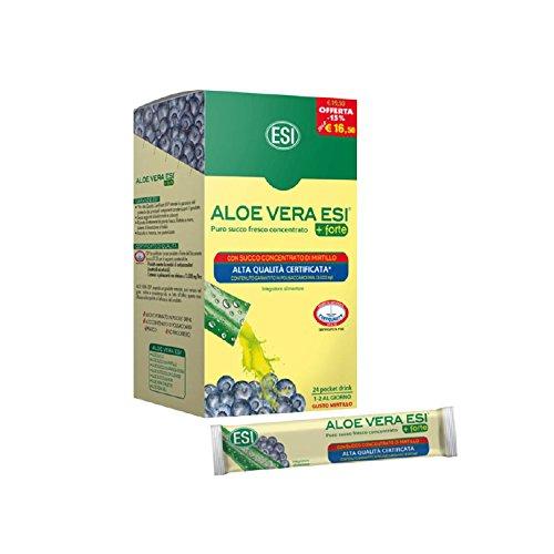 Esi 53362 Aloe Vera 24 Pocket Drink, Integratore Alimentare