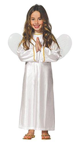 Guirca Disfraz Infantil de Ángel, Color Blanco, 3-4 años (42607.0)