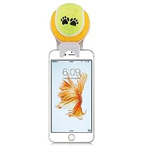 e-plg pour Smartphone Fixation Selfie bâton selfie Stick Pet-Pet-Pet Entraînement d'Agility-Jouet pour Animaux (couleur blanc Selfie bâton)