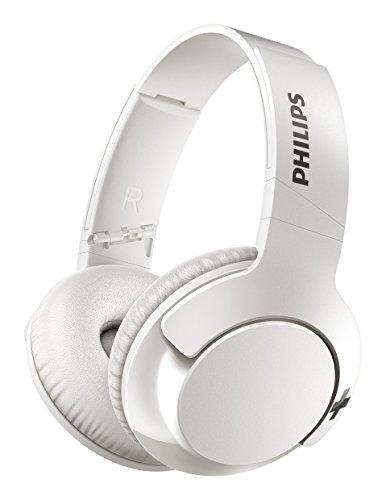 Philips SHB3175WT BASS+ Over-Ear Bluetooth-Kopfhörer (13 Stunden Akku, satter Bass, Freisprechfunktion) weiß thumbnail