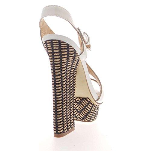 Guess FL1JLNPAT03 Sandalo Donna Bianco