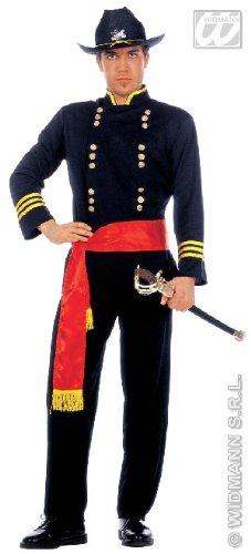 KOSTÜM - NORDSTAATEN GENERAL - Größe 54 (L) (Bürgerkrieg Soldat Kostüme)