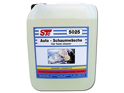 STC Autowaschmittel Konzentrat bis 1:100 Auto Schaumwäsche Autoshampoo Reiniger (5 L Kanne)