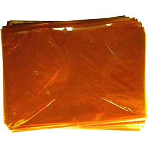 kraftz® 48Stück Blatt Zellophan/Folie-Orange Farbe A4Größe