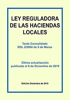 Ley Reguladora de las Haciendas Locales. Texto refundido