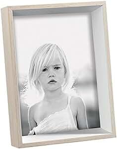 Porta-retrato de madera - Medidas 13 x 18 cm - Color ...