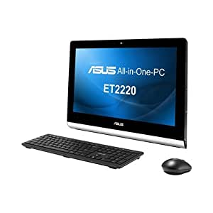 ASUS ET2220IUKI-B019K 21.5-inch All-in-One Desktop PC (Intel Core i3-3220 3.3GHz Processor, 6GB DDR3 RAM, 1TB HDD, TV Tuner, USB 3.0, HDMI, Wi-Fi, DVD-RW, Windows 8, Sonic Master Audio)
