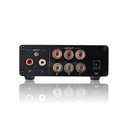 41jMgN e%2BTL. SS500  - Nobsound HiFi TPA3116D2 2.1 Channel Digital Audio Power Amplifier Stereo Amp 2×50W+100W Subwoofer Treble Bass…