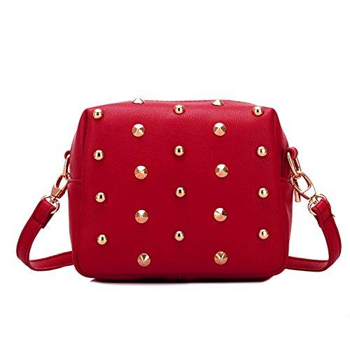 GSPStyle, Borsa a spalla donna Rosso (rosso)