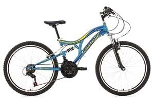 VTT enfant 24'' Castello bleu TC 36 cm KS Cycling