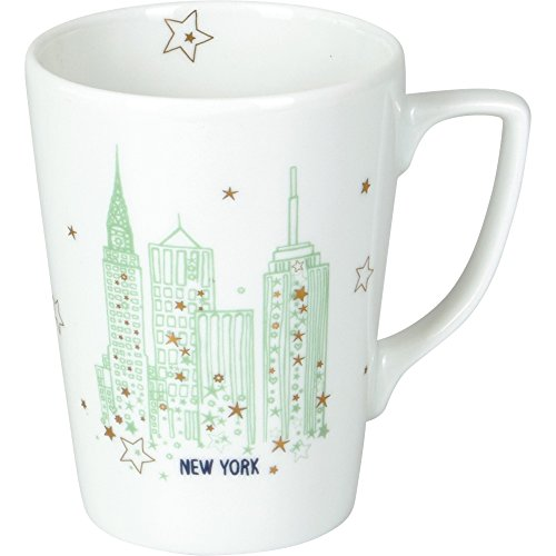 Spiegelburg 14254 Tasse en porcelaine New York White Christmas