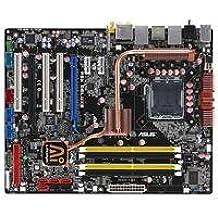 ASUS P5K Deluxe/WiFi-AP Socket T (LGA 775) ATX - Placa base (8 GB, Intel, Socket T (LGA 775), Dual Gigabit Ethernet, ATX, 7.1 channels)