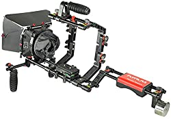 Flyfilms DSLR Camera Shoulder Rig Kit (FF-02) Most Affordable Kit with Cage & Matte box for DSLR Video Camcorder NIKON SONY CANON | Free Accessories