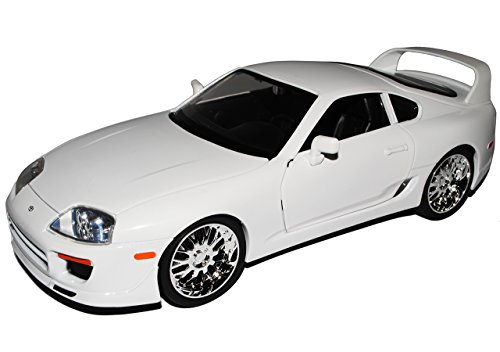 Jada Toyota Supra Weiss Brian´s Paul Walker The Fast and The Furious 1/18 Modell Auto