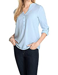 Esprit 995EE1F900 - Blouse - Taille normale - Manches longues - Femme